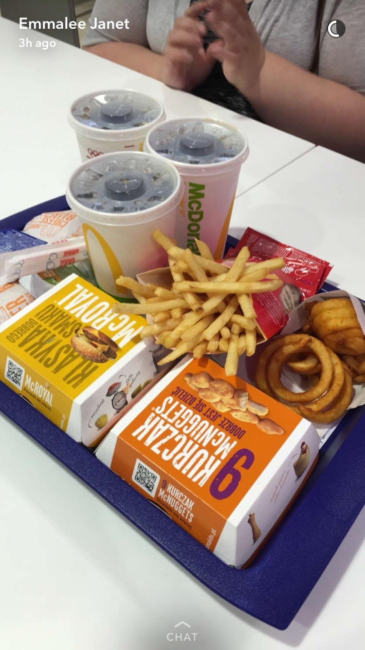 Curly Fries at McDonalds in Krakow