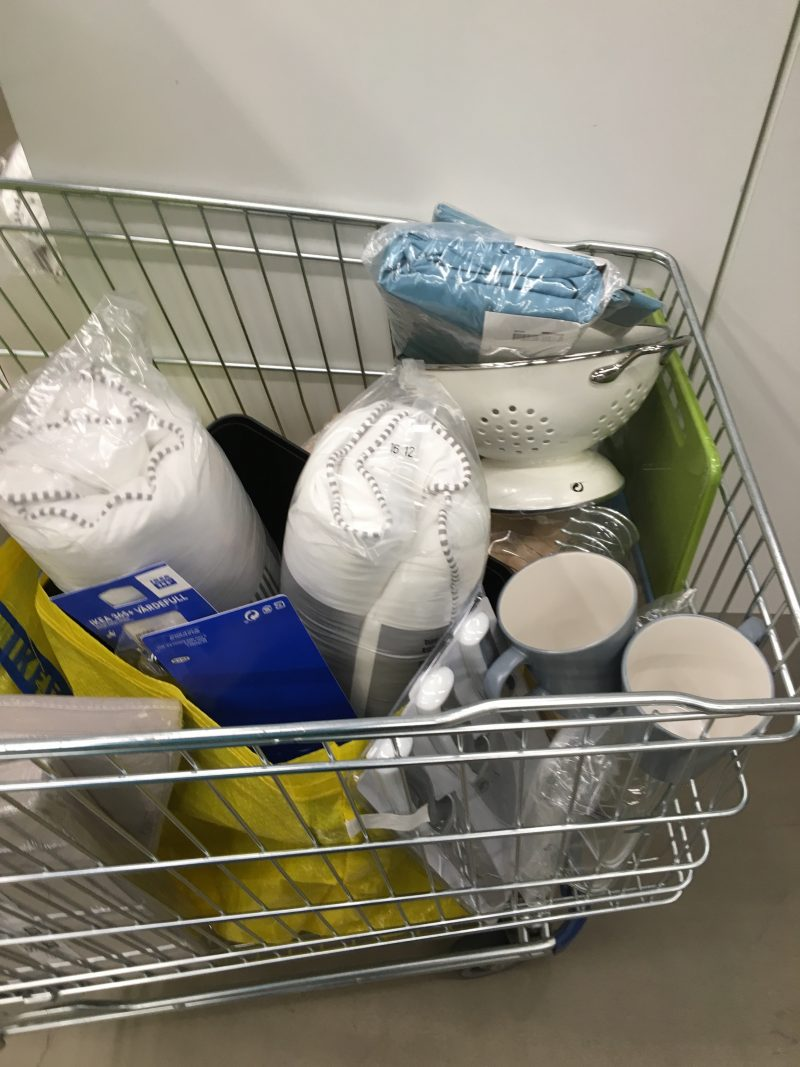 Shopping at Ikea