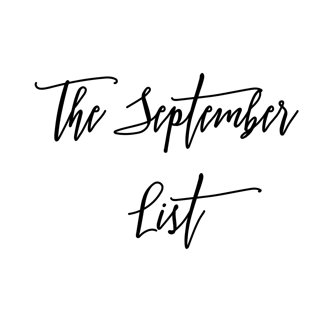 The September List